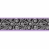 Purple and Black Kaylee Children and Kids Modern Wall Border by Sweet Jojo Designs