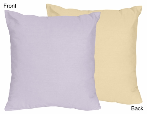 Purple Dragonfly Dreams Decorative Accent Throw Pillow - Click to enlarge
