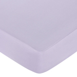 Purple Dragonfly Dreams Fitted Crib Sheet for Baby and Toddler Bedding Sets by Sweet Jojo Designs - Solid Purple
