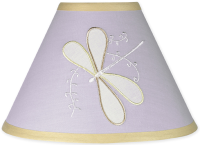 Purple Dragonfly Dreams Lamp Shade - Click to enlarge