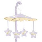 Purple Dragonfly Dreams Musical Crib Mobile