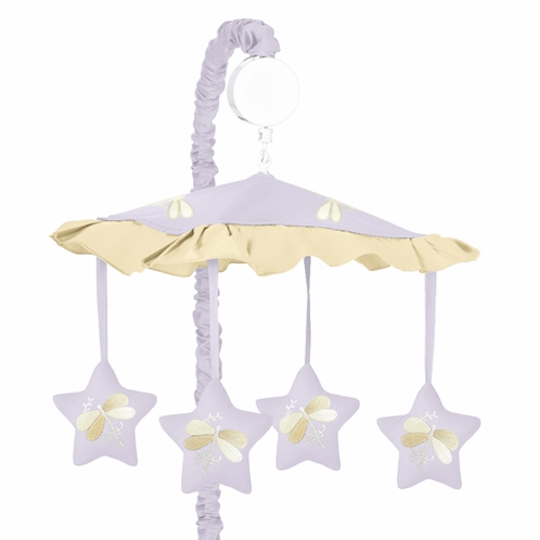 Purple Dragonfly Dreams Musical Crib Mobile - Click to enlarge