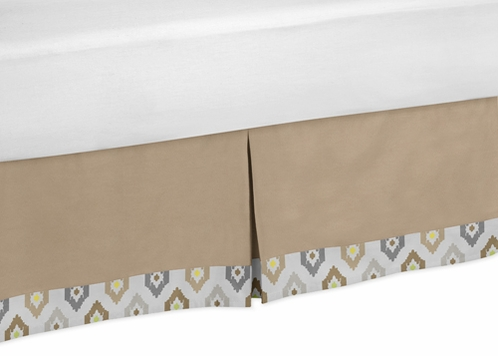 Queen Bed Skirt for Safari Outback Jungle Bedding Sets - Click to enlarge