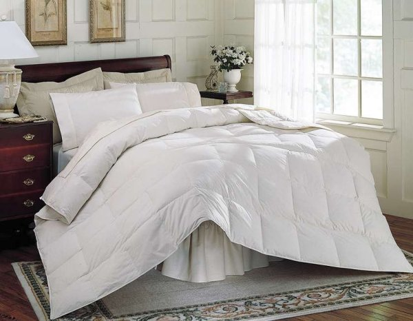 queen white feather down comforter - Down Comforter Queen