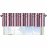 Red, White and Blue Stripe Window Valance for Nautical Nights Collection by Sweet Jojo Designs