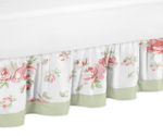 Riley's Roses Bed Skirt for Toddler Set by Sweet Jojo Designs