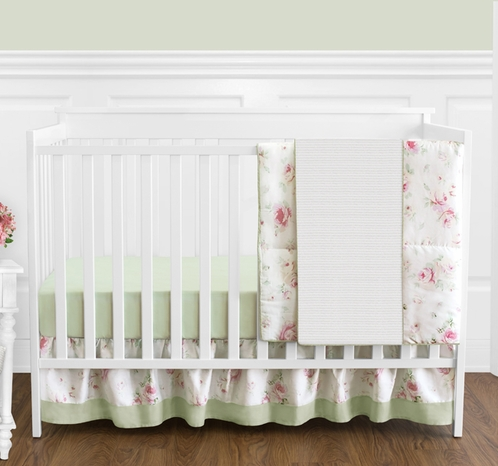 Floral Nursery Bedding Gorgeous Riley's Roses Floral Baby Bedding 60pc Crib Set Only 6060