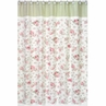 Riley's Roses Kids Bathroom Fabric Bath Shower Curtain
