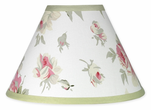 Riley's Roses Lamp Shade - Click to enlarge