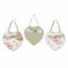 Riley's Roses Wall Hanging Art Decor 3 Piece Set