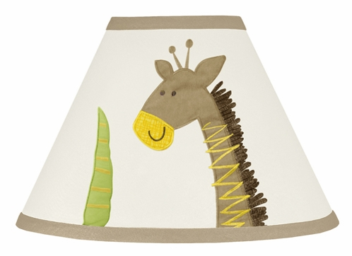 Safari Outback Jungle Lamp Shade by Sweet Jojo Designs - Click to enlarge