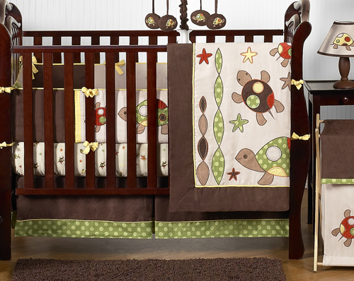 Sea Turtle Baby Bedding 9pc Boys Crib Set By Sweet Jojo Designs Only 92 00