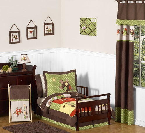 Sea Turtle Toddler Bedding - 5pc Set by Sweet Jojo Designs - Click to enlarge
