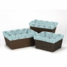 Set of 3 One Size Fits Most Basket Liners for Earth and Sky Bedding Sets