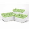 Set of 3 One Size Fits Most Basket Liners for Olivia Bedding Sets