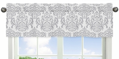 Skylar Collection Window Valance by Sweet Jojo Designs