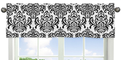 Sloane�Collection Window Valance by Sweet Jojo Designs