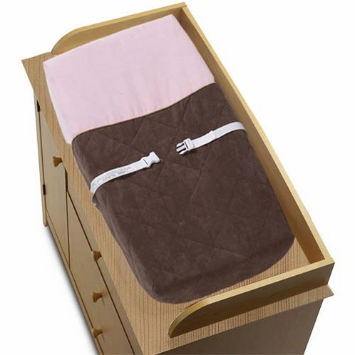 Soho Pink Changing Pad Cover - Click to enlarge