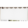 Solid White Minky Dot Window Valance by Sweet Jojo Designs