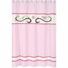 Song Bird Kids Bathroom Fabric Bath Shower Curtain by Sweet Jojo Designs