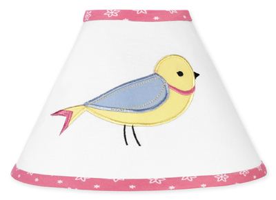 Song Bird Lamp Shade by Sweet Jojo Designs - Click to enlarge