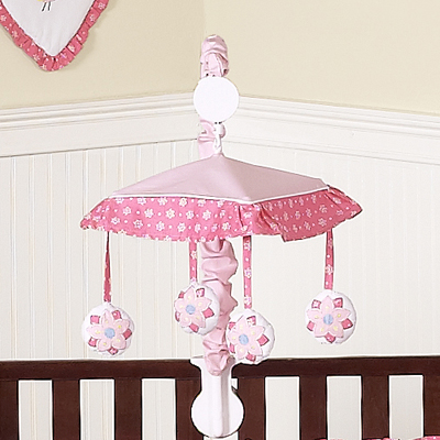 Song Bird Musical Baby Crib Mobile by Sweet Jojo Designs - Click to enlarge