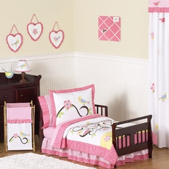 Song Bird Toddler Bedding - 5pc Set by Sweet Jojo Designs