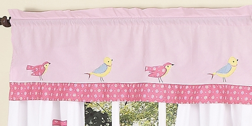 Song Bird�Window Valance by Sweet Jojo Designs - Click to enlarge