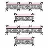 Sophia Collection Crib Bumper by Sweet Jojo Designs