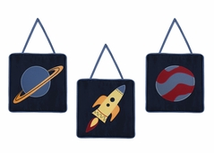 Space Galaxy Wall Hanging Accessories by Sweet Jojo Designs