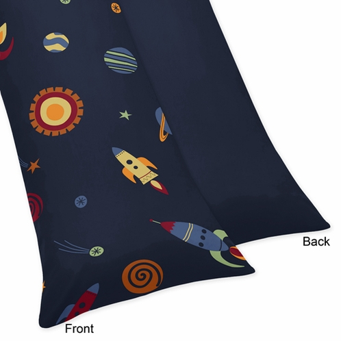 Space Galaxy Galactic Full Length Double Zippered Body Pillow Case Cover - Click to enlarge
