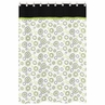 Spirodot Lime and Black Kids Bathroom Fabric Bath Shower Curtain by Sweet Jojo Designs