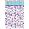 Spring Garden Kids Bathroom Fabric Bath Shower Curtain by Sweet Jojo Designs