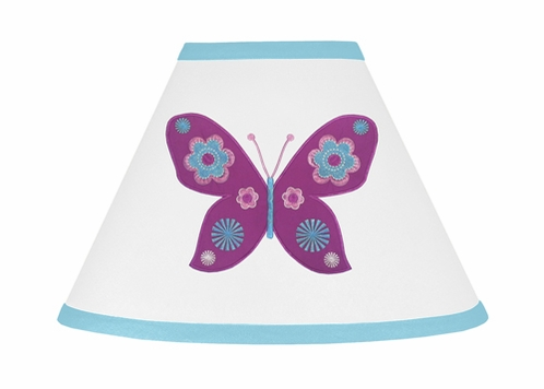 Spring Garden Lamp Shade by Sweet Jojo Designs - Click to enlarge