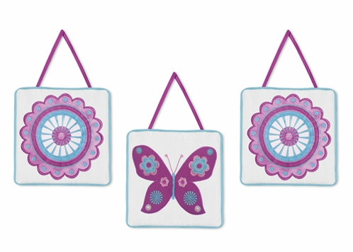 Spring Garden Wall Hanging Accessories by Sweet Jojo Designs - Click to enlarge