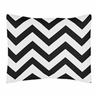 Standard Pillow Sham for Black and White Chevron Zig Zag Bedding by Sweet Jojo Designs