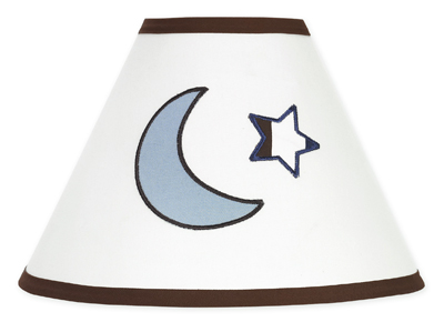 Starry Night Stars and Moons Lamp Stars and Moons Shade by Sweet Jojo Designs - Click to enlarge