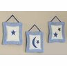 Stars and Moon Wall Hangings Art Decor 3 Piece Set