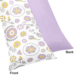 Suzanna Full Length Double Zippered Body Pillow Case Cover by Sweet Jojo Designs