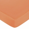 Sweet Jojo Designs Surf Fitted Crib Sheet for Baby/Toddler Bedding Sets - Solid Orange