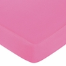 Sweet Jojo Designs Surf Fitted Crib Sheet for Baby/Toddler Bedding Sets - Solid Pink