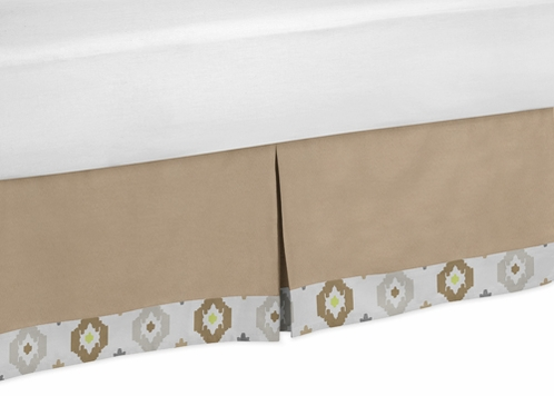 Toddler Bed Skirt for Safari Outback Jungle Kids Childrens Bedding Sets - Click to enlarge