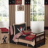 Treasure Cove Pirate Toddler Bedding - 5 pc Set