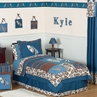 Tropical Hawaiian Kids Bedding - 3pc Boys Surf Full / Queen Set