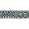 Turquoise and Brown Bella Baby and Kids Wall Border by Sweet Jojo Designs