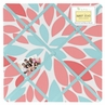 Turquoise and Coral Emma Fabric Memory/Memo Photo Bulletin Board