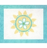 Turquoise and Lime Layla Accent Floor Rug
