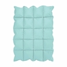 Turquoise Blue Baby Crib Down Alternative Comforter / Blanket