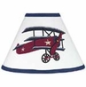 Vintage Aviator Airplane Lamp Shade by Sweet Jojo Designs