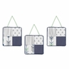 Wall Hanging Accessories for Navy, Mint and Grey Woodsy Collection by Sweet Jojo Designs